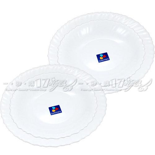 【17go】LANOR Luminarc優質強化餐具2件組*2組入