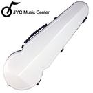 JYC Music JA-150中提琴盒15.5-17吋-白色格點款/具備溼度計/羽量級複合材料