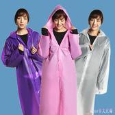 男女成人專用連帽雨衣外套旅游戶外學生時尚裝防水長款加厚雨披 DR18287【Rose中大尺碼】