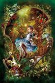 【拼圖總動員 PUZZLE STORY】愛麗絲的書櫃(作者:溝口周一) 日本進口拼圖/AppleOne/繪畫/300P/夜光