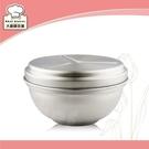 理想牌極緻316不鏽鋼隔熱碗(附蓋)12cm上蓋可當菜盤-大廚師百貨