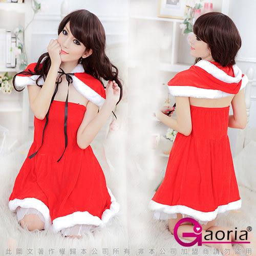 VIVI情趣用品專賣店 性感睡衣 情趣商品 角色扮演 Gaoria熱情小紅帽‧絨布披肩聖誕角色服