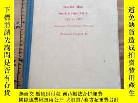 "二手書博民逛書店Selected罕見Mass Spectral Data Vol.5.Research Project44.""15"
