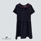 袖口X腰間蕾絲滾邊設計洋裝 Scottish House【AE3159】