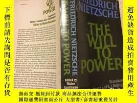 二手書博民逛書店The罕見Will to Power 尼采:《權力意志》,196