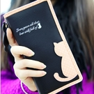 ►全區69折►新款韓版小清新甜美可愛貓咪吊墜女式長短款拉鍊錢包錢夾卡包【D1042】