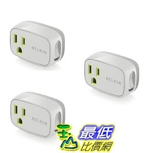 [103 美國直購 ShopUSA] 貝爾金電力保護開關 3 Pack - Belkin Power Conserve Switch F7c016q - Bulk Packaging