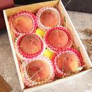 美國加州水蜜桃6顆禮盒組*1盒(230-250g/顆)
