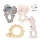 TIKIRI 固齒玩具/安撫玩具-小老鼠/小象/小兔/刺蝟
