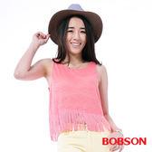 BOBSON 女款流蘇背心(25153-23)