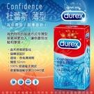 衛生套 保險套 Durex杜蕾斯 薄型(12入裝) 保險套 避孕使用 套套世界