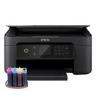 【代客安裝大供墨 寫真型】EPSON XP4101 三合一自動雙面列印複合機 不需電源線 自備主機