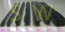 自黏毛刷條 A7 底座?27 mm 毛長12 mm(背膠-3米(約300公分)售)防撞條 氣密條 門縫條 隔音條