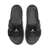 R- NIKE JORDAN HYDRO 8 拖鞋 喬丹 可調式固定帶 運動拖鞋 男款 全黑 CD2803-001