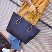 女士包包春季新款韓版時尚托特包復古簡約休閒手提包單肩包大
