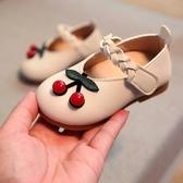 快樂購 寶寶鞋子女防滑軟底單鞋209春秋新款女童粉色公主小皮鞋