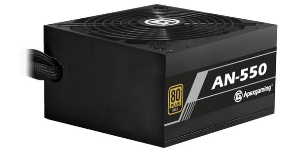 美商艾湃 電競鬥士 AN-550 550W 金牌 電源供應器