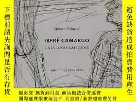 二手書博民逛書店IBERE罕見CAMARGO:CATALOGO RAISONNE 巴西藝術家 伊比利亞.卡馬戈Y22565 I