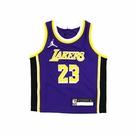 【雙12折後$1280】NIKE NBA 幼童 球衣 湖人隊 LeBron James WY2T1B2EP-LAKJL