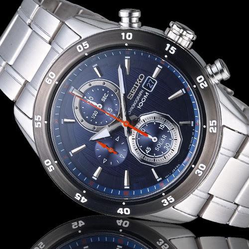 SSC533P1 SEIKO V176-0AR0B  Criteria 極速狂風太陽能計時腕錶