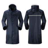 長款雨衣成人男女戶外反光徒步拉?連身鬆緊袖雨披全身防水加長款