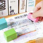 ✭慢思行✭【N300】保密亂碼滾輪式印章 快遞單 隱私 塗抹 蓋字 手帳 保護 安全章 秘密 墨水