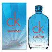 CK one summer 2017 夏日限量版中性淡香水 100ml 40756《Belle倍莉小舖》