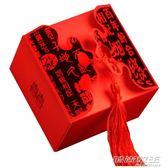 結婚喜糖盒子批發韓式喜糖禮盒婚慶創意糖果袋中式流蘇喜糖盒50個  時尚教主