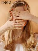 十件套裝戒指女日韓潮人個性簡約學生食指環飾品細關節戒小指尾戒 安妮塔小舖