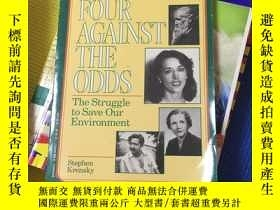 二手書博民逛書店Four罕見Against the Odds:the strug