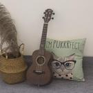 【小吉他】面單尤克里里初學者男女23寸21寸單板烏克麗麗入門樂器  【端午節特惠】