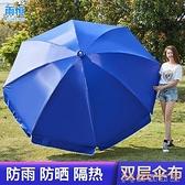 戶外傘 太陽大型雨傘超大號戶外傘商用擺攤傘防曬廣告傘定制圓傘【免運快出】