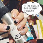 現貨~ JH-140【14貼燙金美甲貼紙裸裝】銀線 防水環保全貼手指甲孕婦甲油膜貼片