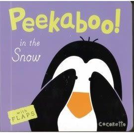 《翻翻迷藏書》PEEKABOO: IN THE SNOW /幼兒與動物們捉迷藏硬頁書
