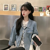 夏季韓版2020新款學生寬鬆BF風ins百搭鹽系時尚長袖女裝 草莓妞妞