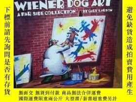 二手書博民逛書店WIENER罕見DOG ARTY12800 GARY LARSO