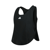ADIDAS 女短版背心(Tech 吸濕排汗 運動 訓練 無袖 上衣 愛迪達 免運 ≡排汗專家≡