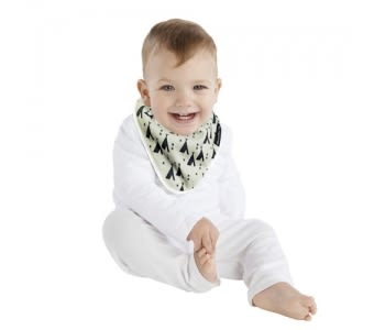 MUM 2 MUM 雙面竹纖維棉機能口水巾圍兜 印地安帳篷/X號 ZMU363352 好娃娃