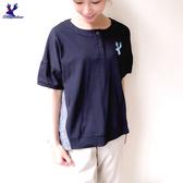 【春夏新品】American Bluedeer - 格紋拼布上衣 二色 春夏新款