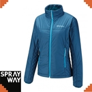 【SPRAYWAY 英國 茱莉中纖外套《藍》】0256/保暖/防風/禦寒外套/輕量/柔軟/透氣