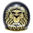 【東門城】EVO 智同 CA-310 精裝版 獅子王(黑) 半罩式安全帽