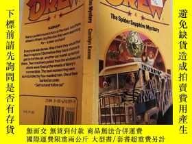 二手書博民逛書店drew罕見the spider sapphire mystery 畫出了蜘蛛藍寶石的秘密Y200392