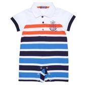 『小鱷魚童裝』條紋連身裝(0號~01號)369506