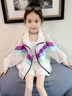 女童防曬衣夏裝新款韓版兒童中大童洋氣時尚服衫薄款外套透氣