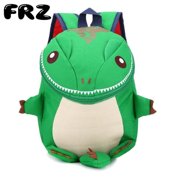 卡通幼兒園3-5-6歲男孩女孩小背包小恐龍兒童書包寶寶可愛雙肩包
