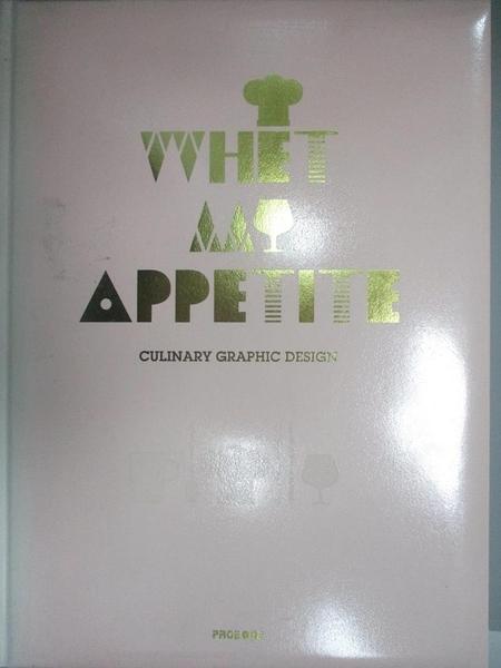 【書寶二手書T4/廣告_J4T】Whet My Appetite_Sandu(ed.)