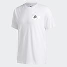 ADIDAS TREFOIL ESS 男裝 短袖 休閒 棉質 刺繡LOGO 經典 基本款 白【運動世界】FM9966