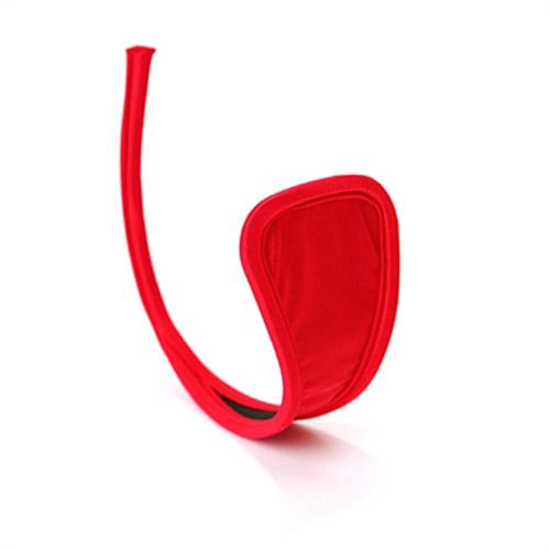 【伊莉婷】超夯 C-String 夏娃的最後一片葉子 C字褲 紅