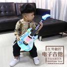 兒童尤克里里聲光音樂初學者小吉他仿真可彈奏樂器玩具吉他男女孩CY『韓女王』