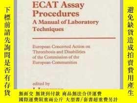 二手書博民逛書店Ecat罕見Assay Procedures. a Manual of Laboratory Techniques